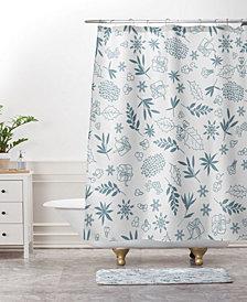 Deny Designs Iveta Abolina Pine Tree Garden Bath Mat
