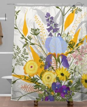 Deny Designs Iveta Abolina Riva Shower Curtain Bedding
