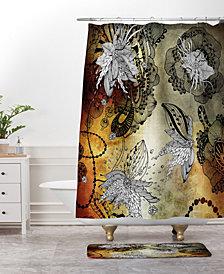Deny Designs Iveta Abolina Coral Feathers Bath Mat
