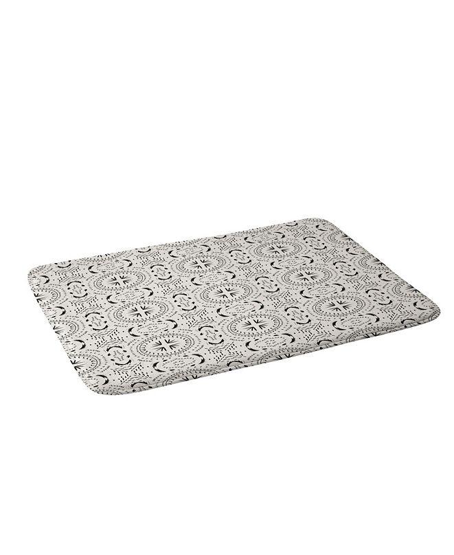 Deny Designs Holli Zollinger Mandala Tile Bath Mat