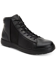 Calvin Klein Men's Salvador Leather High-Top Sneakers
