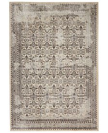 "kathy ireland Home KI34 Silver Screen KI342 Gray 5'3"" x 7'3"" Area Rug"