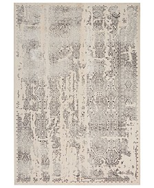 "kathy ireland Home KI34 Silver Screen KI344 6'7"" x 9'6"" Area Rug"