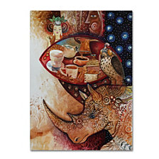 Oxana Ziaka 'Goddess of Coffee' Canvas Art Collection