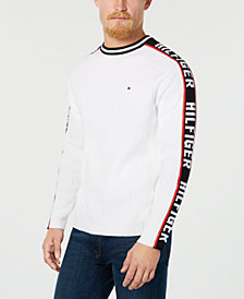 Tommy Hilfiger Men's Winter Logo Sweater, Created for Macy's