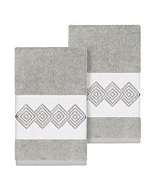 Noah 2-Pc. Embellished Hand Towel Set