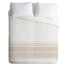 Holli Zollinger French Linen Tassel King Duvet Set