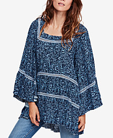 Free People Talk About It Tunic Top