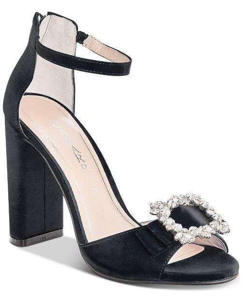 SandalesCommentaires Tongs Pasha Chaussures Satin Soiree Caparros Noir qMVSpUz