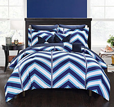 Chic Home Surfer 10-Pc Queen Comforter Set