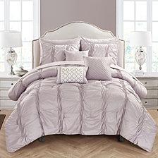 Chic Home Tori 10-Pc Queen Comforter Set