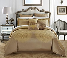 Orchard Place 9-Pc Queen Comforter Set