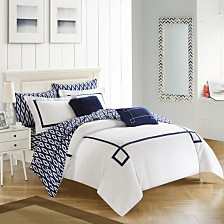 Chic Home Trace 9-Pc King Comforter Set