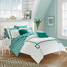 Chic Home Trace 9-Pc Queen Comforter Set