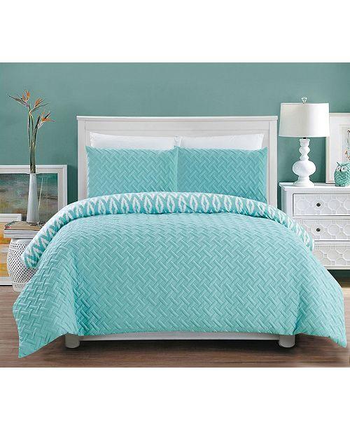 Chic Home Ora 2-Pc Twin Comforter Set