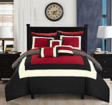 Chic Home Jake 10-Pc Queen Comforter Set