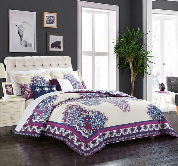 Chic Home Michal 5-Pc King Comforter Set