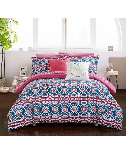Chic Home Jojo 9-Pc Full Comforter Set