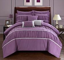 Cheryl 10-Pc King Comforter Set