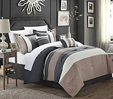 Carlton 10-Pc Queen Comforter Set