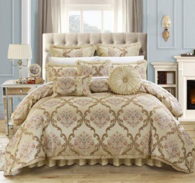 Aubrey 9-Pc King Comforter Set