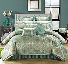 Chic Home Como 9-Pc Queen Comforter Set