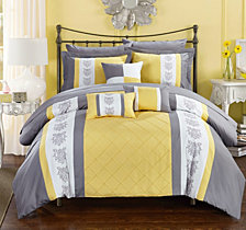 Chic Home Clayton 8-Pc Twin Comforter Set
