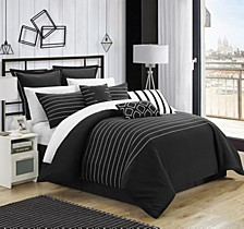 Brenton 9-Pc King Comforter Set
