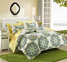Barcelona 8-Pc Full/Queen Comforter Set