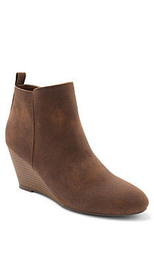 XOXO Bennington Wedge Booties