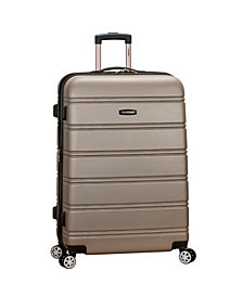 "Rockland 28"" Expandable Abs Dual Wheel Spinner"
