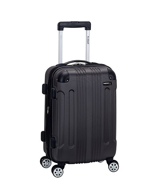 """Rockland Sonic 20"""" Carry-On Luggage"""