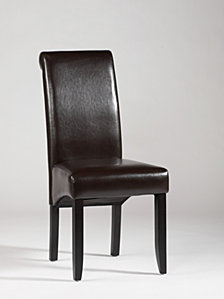 Bella Luna Rolled Back Parson Chair (Set of 2)