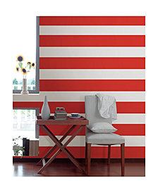 Red Hot Stripe Decals Set Of 2