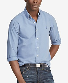 Polo Ralph Lauren Men's Classic Fit Garment Dyed Oxford Shirt