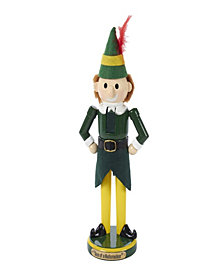 Kurt Adler 11 Inch Wooden Buddy the Elf Nutcracker