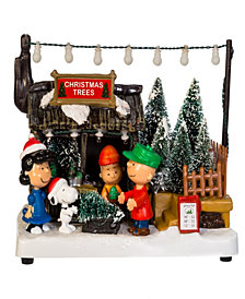 Kurt Adler 7-Inch Battery-Operated Peanuts Musical Animated Tablepiece