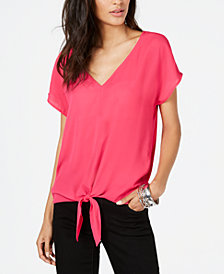 I.N.C. Tie-Front Top, Created for Macy's
