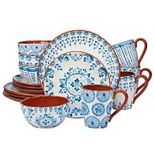 Porto 16-Pc. Dinnerware Set