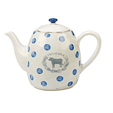 Certified International Urban Farmhouse Teapot