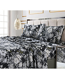 Vernazza Printed 300 TC Cotton Sateen Extra Deep Pocket Twin XL Sheet Set