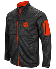 Colosseum Men's Clemson Tigers Glacier Full-Zip Jacket