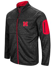 Colosseum Men's Nebraska Cornhuskers Glacier Full-Zip Jacket