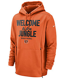 Nike Men's Cincinnati Bengals Sideline Player Local Therma Hoodie