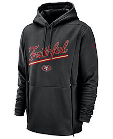 Nike Men's San Francisco 49ers Sideline Player Local Therma Hoodie