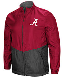 Colosseum Men's Alabama Crimson Tide Halfback Option Reversible Full-Zip Jacket