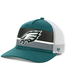 '47 Brand Philadelphia Eagles Team Stripe MVP Cap
