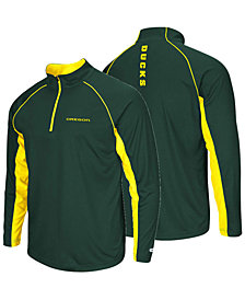 Colosseum Men's Oregon Ducks Rival Quarter-Zip Pullover