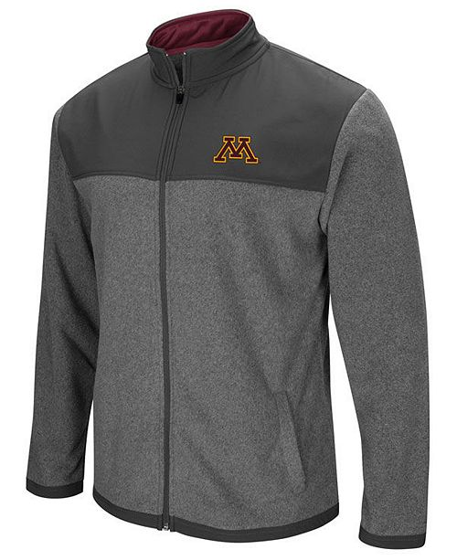 100% authentic 0d79c 015a8 Colosseum Men s Minnesota Golden Gophers Full-Zip Fleece Jacket ...