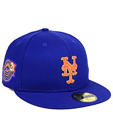 New York Mets Trophy Patch 59FIFTY FITTED Cap